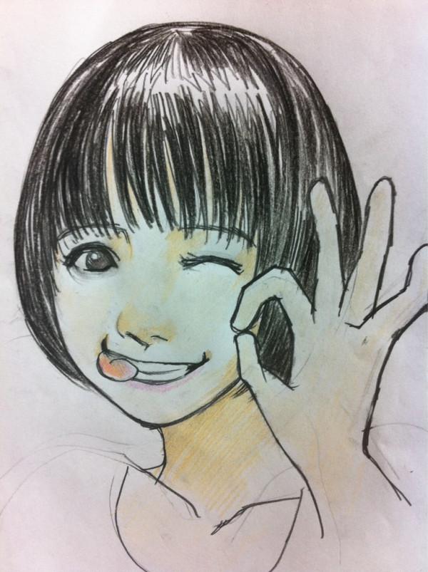 【画像】@Piroshkiskyさんが描いた玉井詩織のイラスト6選!