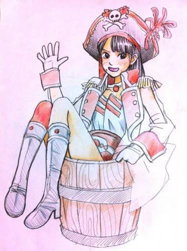 【画像】Piroshkiskyさんが描いた百田夏菜子のイラストが可愛いすぎるっ!