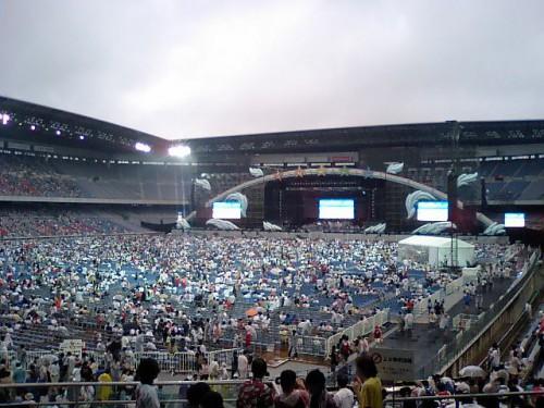 【ももクロ】8/4にワンマンライブが開催される日産スタジアムの会場内イメージ!